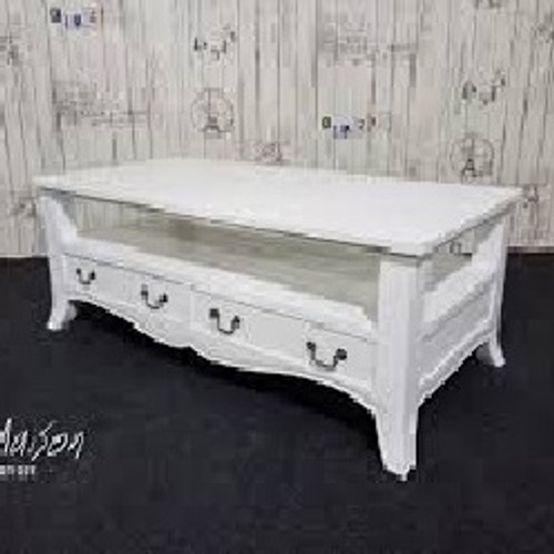 SHABBY CHIC COFFEE TABLE | White
