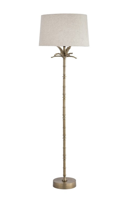 BRASS PINEAPPLE FLOOR LAMP
