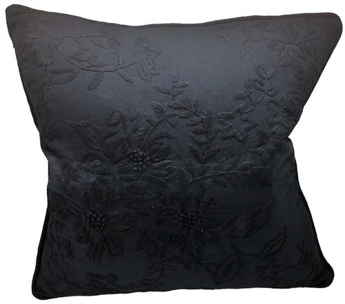 COTTON CUSHION NAVY