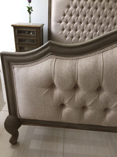 CAROLINE FRENCH UPHOLSTERED BED