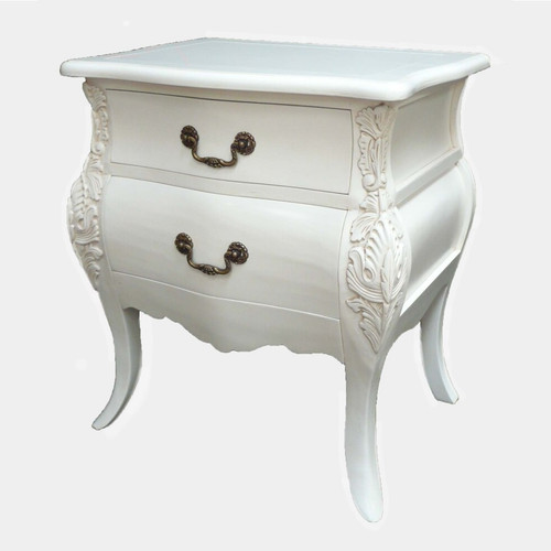 LORETTE 2 DRAWER BEDSIDE