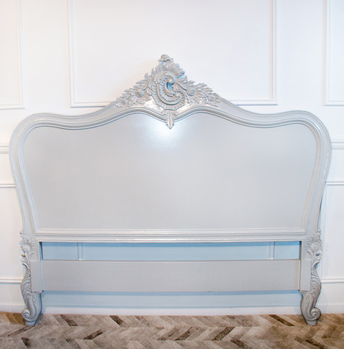 PROVENCAL CLASSIC HEADBOARD | Grey | Double
