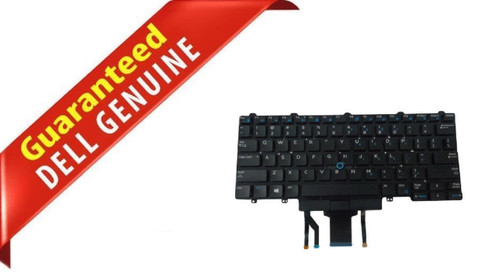 NEW OEM Dell Latitude E5450 E7250 E7450 E7470 US Backlit Laptop Keyboard D19TR
