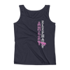 Straight like that! Ladies' Tank - Navy