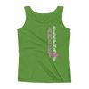 Straight like that! Ladies' Tank - Green Apple