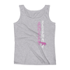 Straight like that! Ladies' Tank - Heather Grey