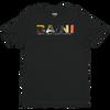 BA\NI short sleeve men's t-shirt - Black