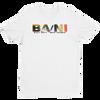 BA\NI short sleeve men's t-shirt - White