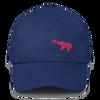 Pink Elephant Awareness Month- Dad Cap - Royal Blue