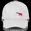 Pink Elephant Awareness Month- Dad Cap - White