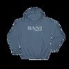 BANI- Angry Elephant Signature Hoody - Indigo/White