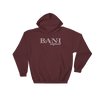 BANI- Angry Elephant Signature Hoody - Maroon/White