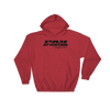 Angry Elephant Pay Attention Hoodie - Red/Black