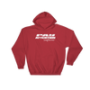 Angry Elephant Pay Attention Hoodie - Red/White