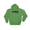 Angry Elephant Pay Attention Hoodie - Green/Black