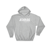 Angry Elephant Pay Attention Hoodie - Grey/White