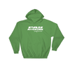 Angry Elephant Pay Attention Hoodie - Green/White