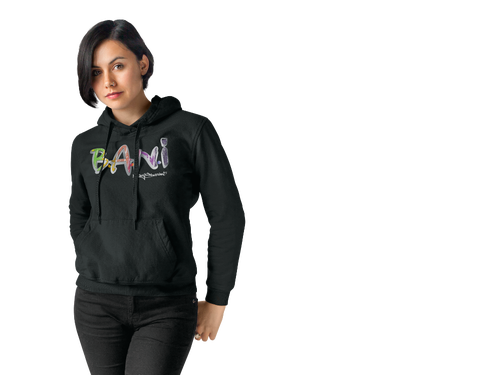 BANI- Graffiti Signature Hoody - Black