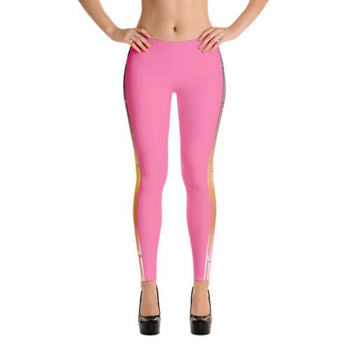 A Mazin Pink! Leggings