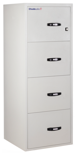 Chubb 1 hour Fire Filing Cabinet 4 drawer (291kg)