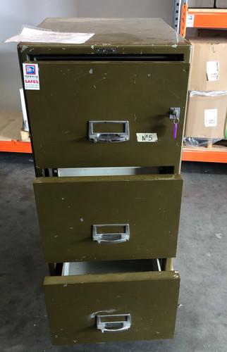 Used Safe Chubb Filing Cabinet (Keyed) 500kg