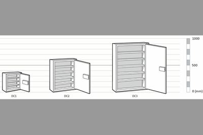 Chubb Drug Cabinet Size 3 (160kg)