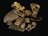 244 bags filled with gold found by Terry