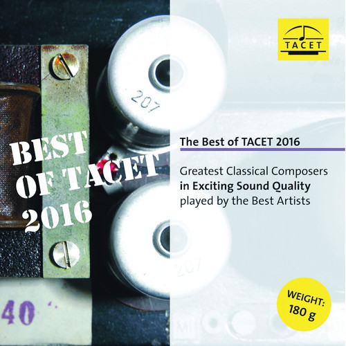Classical  LP 180g - The Best Of Tacet 2016. TACET L968, Cat.# TACET L 968, format 1LP 180g 33rpm. Barcode 4009850096818. More info on www.sepeaaudio.com
