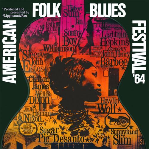 Pop LP 180g - American Folk Blues Festival 1964. Pure Pleasure pp42024, Cat.# Pure Pleasure LR 42.024, format 1LP 180g 33rpm. Barcode 5060149622001. More info on www.sepeaaudio.com