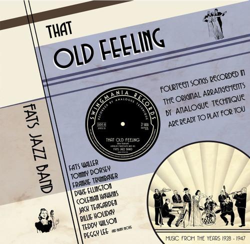 "Sepea Audio Original Tape Recording - Fats Jazz Band, That Old Feeling, PURE Analog Original Master Professional Recording by Sepea Audio, Recorders - Studer A80 ½"" @30ips (1980s), Studer C37 ¼"" tape @15 ips, Telefunken M5 ¼"" tape @15 ips, Mix - Sonosax SX-T"