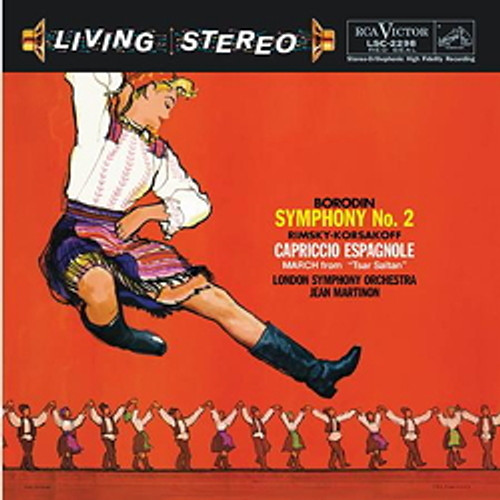 Classical  LP 200g - Borodin: Symphony No. 2. Acoustic Sounds AS2298, Cat.# AS AAPC 2298-33, format 1LP 200g 33rpm. Barcode 0753088229817. More info on www.sepeaaudio.com