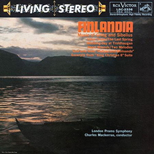 Classical  LP 200g - Grieg & Sibelius: Finlandia. Acoustic Sounds AS2336, Cat.# AS AAPC 2336-33, format 1LP 200g 33rpm. Barcode 0753088233616. More info on www.sepeaaudio.com