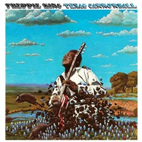 Pop LP 200g - Freddie King: Texas Canonball. Acoustic Sounds AS8913, Cat.# AS AAPB 8913-33, format 1LP 200g 33rpm. Barcode 0753088913112. More info on www.sepeaaudio.com