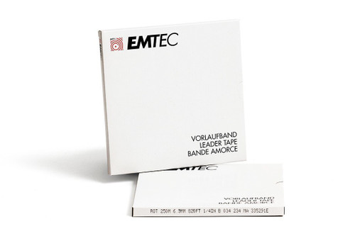 "EMTEC Leader Tape 0,25""; RED 820′ / 250m"