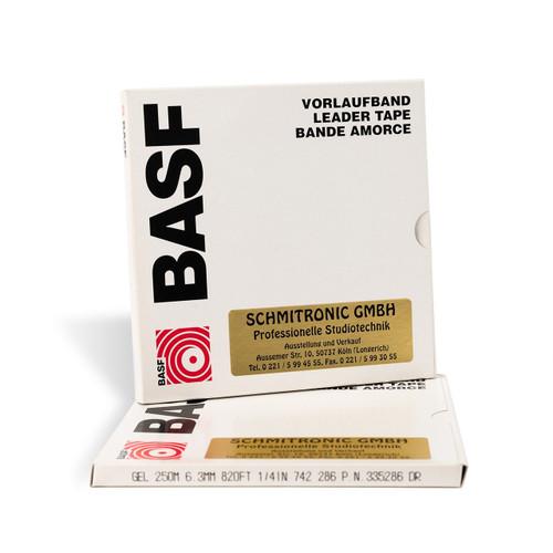 "BASF Leader Tape 0,25""; YELLOW 820′ / 250m (335286). Visit sepeaaudio.com"