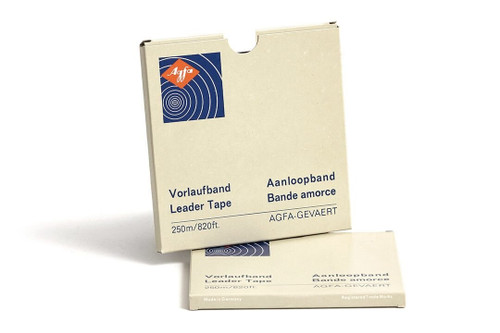 "AGFA Leader Tape 0,25""; WHITE 820′ / 250m"