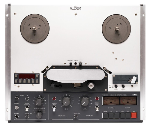 """Revox PR99 MkIII, 1/4"""" Reel Tape Recorder fully renovated by SEPEA audio. Visit sepeaaudio.com for more info."""
