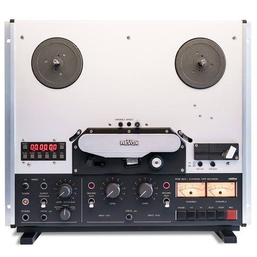 """Revox PR99 MkIII 1/4"""" reel tape recorder with optional stand - renovated"""