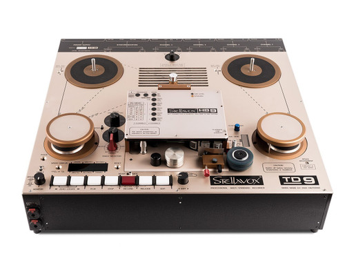 Stellavox PRO TD9 Reference Professional Reel Tape Recorder - new production (SEP9015). SEPEA Audio - Professional reel-to-reel tape recorders and accessories. Visit sepeaaudio.com