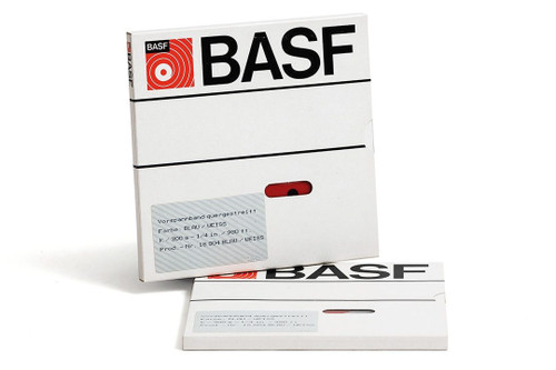 "BASF Leader Tape 0,25""; WHITE/BLUE 980′ / 300m"