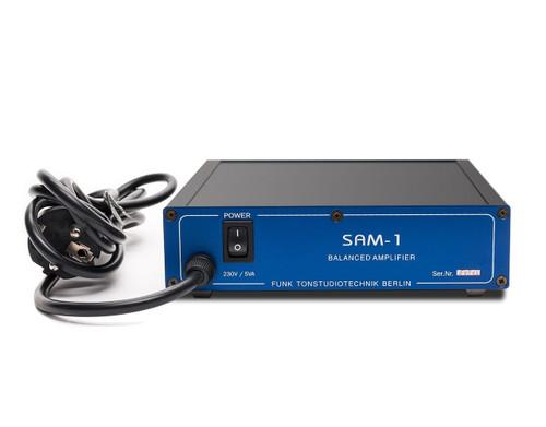 Funk Studiotechnik SAM-1 Balanced Amplifier. SEPEA Audio - Professional reel-to-reel tape recorders and accessories. Visit sepeaaudio.com