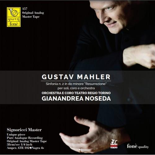 "Classical MASTER TAPE - Gustav Mahler Sinfonia n. 2 in do minore ""Resurrezione"" per soli, coro e orchestra. Fonè Records, original cat.# Fonè 157, format 4x 1/4"" RTM SM900 Tape set, Metal reel 10,5""/265mm, NAB Hub, 38 cm/s (15 ips), IEC eq. More info on www.sepeaaudio.com"