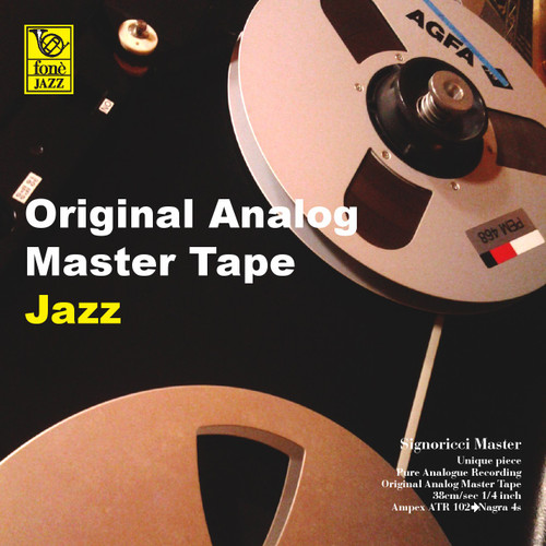 "Jazz MASTER TAPE - Original Analog Master Tape Jazz Sampler. Fonè Records, original cat.# Fonè OAMTJ, format 1x 1/4"" RTM SM900 Tape set, Metal reel 10,5""/265mm, NAB Hub, 38 cm/s (15 ips), IEC eq. More info on www.sepeaaudio.com"