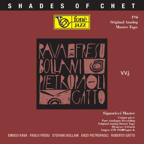 """Jazz MASTER TAPE - Shades of Chet - Rava, Fresu, Bollani, Pietropaoli, Gatto. Fonè Records, original cat.# Fonè 194, format 2x 1/4"""" RTM SM900 Tape set, Metal reel 10,5""""/265mm, NAB Hub, 38 cm/s (15 ips), IEC eq. More info on www.sepeaaudio.com"""
