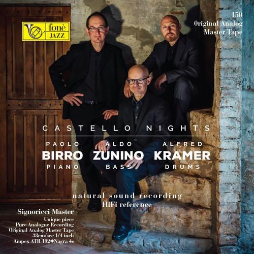 """Jazz MASTER TAPE - Castello Night - Birro, Zunino, Kramer . Fonè Records, original cat.# Fonè 150, format 1x 1/4"""" RTM SM900 Tape set, Metal reel 10,5""""/265mm, NAB Hub, 38 cm/s (15 ips), IEC eq. More info on www.sepeaaudio.com"""