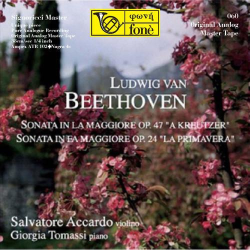 "Classical MASTER TAPE - S. Accardo  G. Tomassi, L. van Beethoven  Sonata OP. 47 e OP. 24. Fonè Records, original cat.# Fonè 060, format 3x 1/4"" RTM SM900 Tape set, Metal reel 10,5""/265mm, NAB Hub, 38 cm/s (15 ips), IEC eq. More info on www.sepeaaudio.com"
