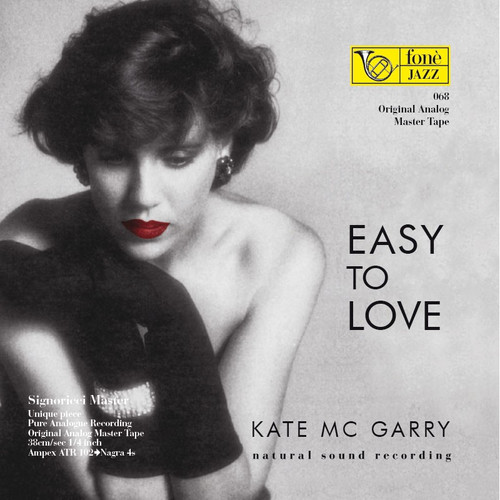 "Jazz MASTER TAPE - Kate Mc Garry - Easy to love. Fonè Records, original cat.# Fonè 068, format 1x 1/4"" RTM SM900 Tape set, Metal reel 10,5""/265mm, NAB Hub, 38 cm/s (15 ips), IEC eq. More info on www.sepeaaudio.com"