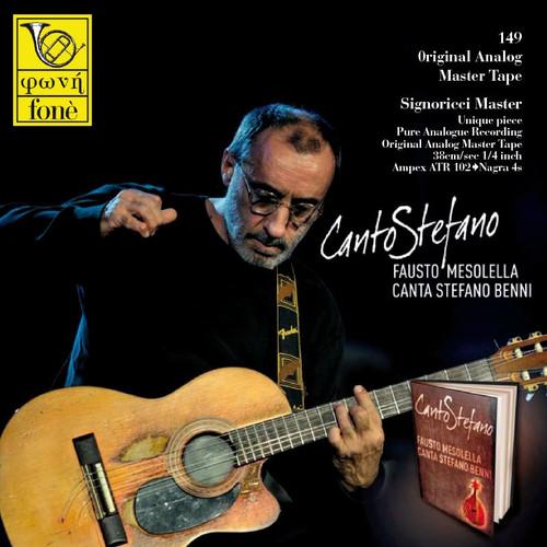 "Jazz MASTER TAPE - Canto Stefano - Fausto Mesolella canta Stefano Benni. Fonè Records, original cat.# Fonè 149, format 1x 1/4"" RTM SM900 Tape set, Metal reel 10,5""/265mm, NAB Hub, 38 cm/s (15 ips), IEC eq. More info on www.sepeaaudio.com"