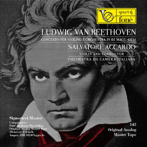 "Classical MASTER TAPE - Ludwig Van Beethoven - Concerto per violino e orchestra. Fonè Records, original cat.# Fonè 143, format 2x 1/4"" RTM SM900 Tape set, Metal reel 10,5""/265mm, NAB Hub, 38 cm/s (15 ips), IEC eq. More info on www.sepeaaudio.com"