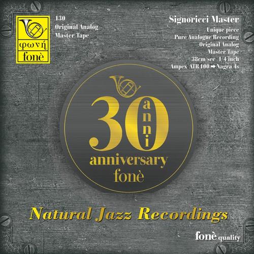 "Jazz MASTER TAPE - 30th Anniversary fonè - Natural jazz recordings. Fonè Records, original cat.# Fonè 130, format 2x 1/4"" RTM SM900 Tape set, Metal reel 10,5""/265mm, NAB Hub, 38 cm/s (15 ips), IEC eq. More info on www.sepeaaudio.com"